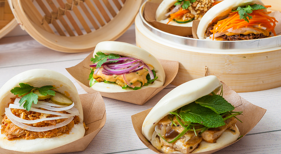 KAPOW Appetizers are now at TEJA Foods, try our new Bao Bun