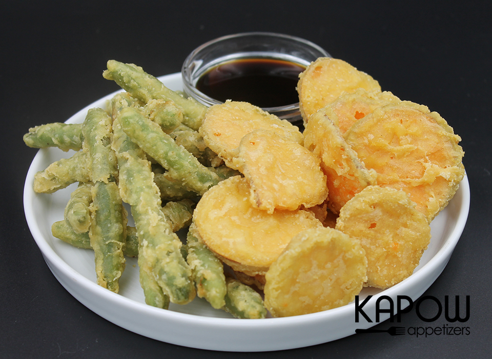 Picked at their peak and dipped in a light tempura batter, these delicious vegetables are frozen and ready to fry up on demand.  Serve hot with your favourite selection of dipping sauces.